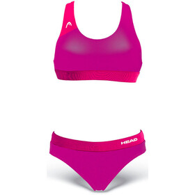 Head Volley Bikinit Naiset, magenta